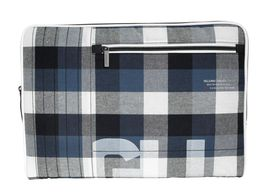Golla Terry 15 Inch Macbook Sleeve - Navy Plaid