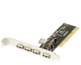 Chronos PCI USB Card 4 Port (5V)