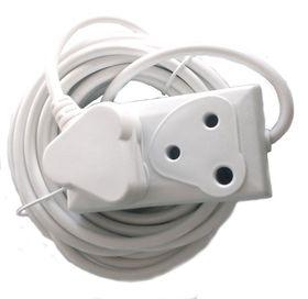 Linkqnet 10m 2-Socket Power Extension Lead