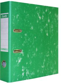 Bantex Optima 7 Board Lever Arch File A4 70mm - Green