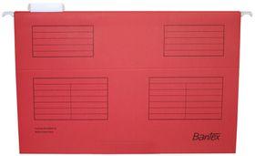 Bantex Suspension File Foolscap - Red (Pack of 25)