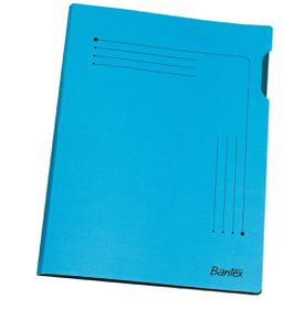 Bantex Insert Folder A4 - Blue (25 Pack)