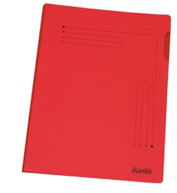 Bantex Insert Folder A4 - Red (25 Pack)
