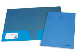Bantex Presentation Folder A4 - Blue (10 Pack)