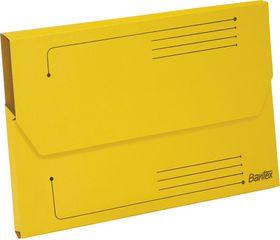 Bantex Smart Folder A4 Kraft - Yellow (Pack of 10)