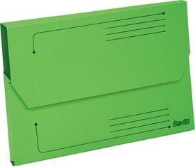 Bantex Smart Folder A4 Kraft - Grass Green (Pack of 10)