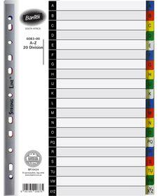 Bantex A4 20 (A-Z) Division P.P File Dividers