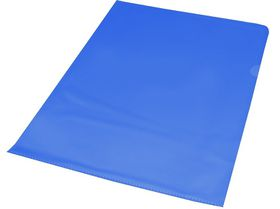 Bantex A4 Anti-Reflective PVC Secretarial Folder - Blue (10 Pack)