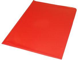 Bantex A4 Anti-Reflective PVC Secretarial Folder - Red (10 Pack)
