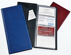 Bantex Business Card Holders Standard Range - Blue