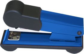 Bantex Metal Small Half Strip Home Stapler - Cobalt Blue