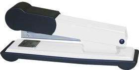 Bantex Metal Medium Half Strip Office Stapler - White
