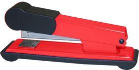 Bantex Metal Medium Half Strip Office Stapler - Red