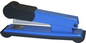 Bantex Metal Medium Half Strip Office Stapler - Cobalt Blue
