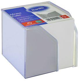 Bantex Memo Cube Plastic Holder - White