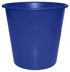 Bantex Waste Paper Bin 10 Litre Round - Blue