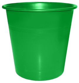 Bantex Waste Paper Bin 10 Litre Round - Green