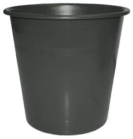 Bantex Waste Paper Bin 10 Litre Round - Anthracite Grey