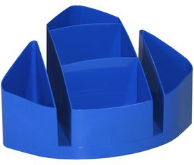 Bantex Desk Organiser - Cobalt Blue