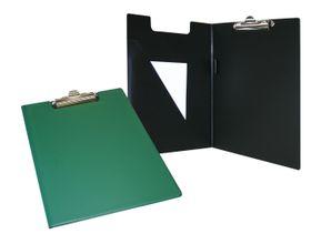 Bantex A4 PVC Folding Clipboard - Green