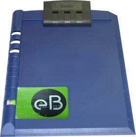 Bantex A5 Plastic Clipboard - Blue