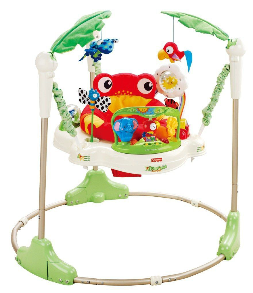 Fisher price rainforest jumperoo buy online in south for Door jumperoo