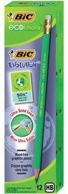 BIC Ecolutions Evolution 655 HB Pencils (Box of 12)