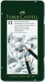 Faber-Castell 9000 Art Set (Tin of 12)