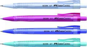 Faber-Castell Econ 0.7mm Mechanical Pencils - Box of 10 Assorted