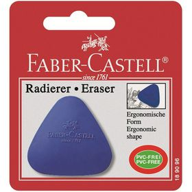 Faber-Castell Eraser - Triangular (Box of 12 Assorted Colours)