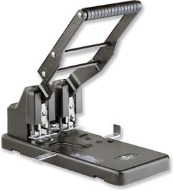 Kangaro HDP 2160 2 Hole Heavy Duty Punch - Black