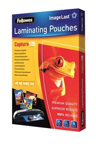 Fellowes Capture125 A5 Gloss Laminating Pouches - 125 micron (Pack of 100)