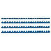 Fellowes 10mm 21 Loop Plastic Binding Combs - Blue (Pack of 100)