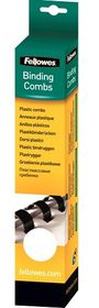 Fellowes 14mm 21 Loop Plastic Binding Combs - White (Pack of 25)