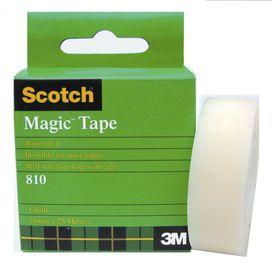 3M Scotch Magic Tape 810 - 18mm x 25m