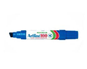 Artline EK100 Industrial Marker Chisel - Blue (Box of 6)