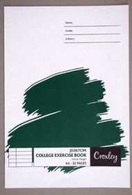Croxley JD267 32 Page A4 I&M Exercise Book (20 Pack)