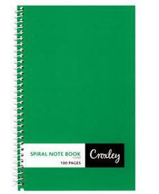 Croxley JD366 100 Page Feint Side Bound Note Book (10 Pack)