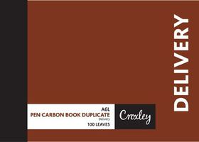 Croxley JD16PR A6L Delivery Pen Carbon Book Duplicate