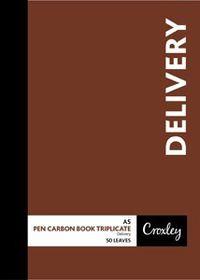 Croxley JD66PR A5 Delivery Pen Carbon Book Triplicate