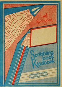 Croxley Springbok JD192 72 Page A4 F&M Scribbling Book (10 Pack)