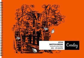 Croxley JD544 25 Leaves A3L Sketch Book (5 Pack)