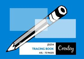 Croxley JD254 Tracing Book A5L 72 Pages (Pack of 10)