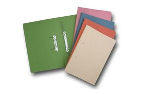 Croxley Accessible File Foolscap - Light Orange (Pack of 20)
