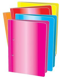Croxley Accessible File A4 - Bright Blue (Pack of 4)