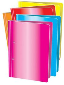 Croxley Accessible File A4 - Bright Pink (Pack of 4)