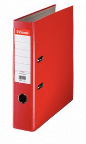 Esselte Lever Arch Polypropylene A4 75mm File - Red
