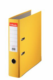 Esselte Lever Arch Polypropylene A4 75mm File - Yellow