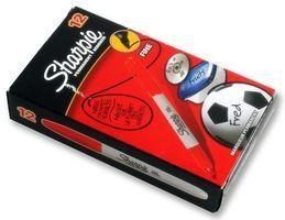 Sharpie Fine Permanent Marker - Red (Box of 12)