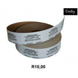 Croxley Admis R10.00 Ticket Roll